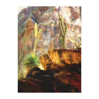渓谷の影から キャンバスプリント