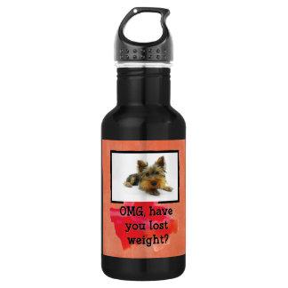 減量カスタムな犬の写真の水差し ウォーターボトル