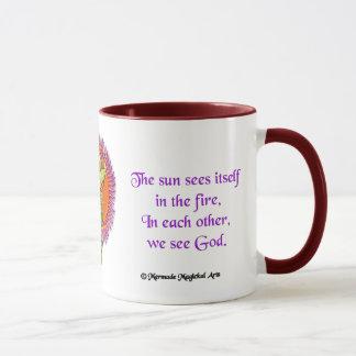 渦のケリュケイオンのマグ、15oz マグカップ
