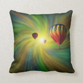 渦の気球の装飾用クッションの熱気球 クッション