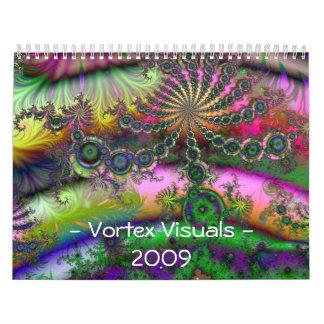 渦の視覚資料-2009のカレンダー カレンダー