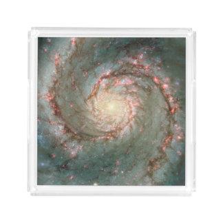 渦の銀河系 アクリルトレー