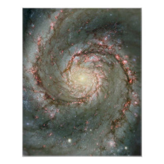 渦の銀河系 ポスター