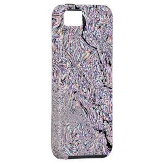 渦巻くこと 虹 フラクタル パターン - iPhone 5 場合 iPhone 5 ケース
