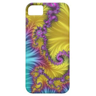 渦巻く絹、芸術的な抽象芸術 iPhone SE/5/5s ケース