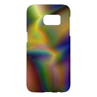 渦巻く色の抽象芸術の柔らかいコレクション SAMSUNG GALAXY S7 ケース