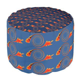 渦巻の抽象美術の魚 プーフ