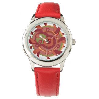 渦巻の日曜日の腕時計 腕時計