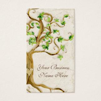 渦巻の木は旧式なタンのプロフェッショナルビジネスを定着させます 名刺
