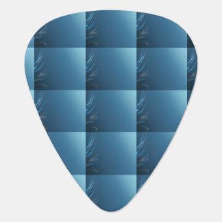 渦巻の青 ギターピック