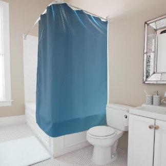 渦巻の青 シャワーカーテン