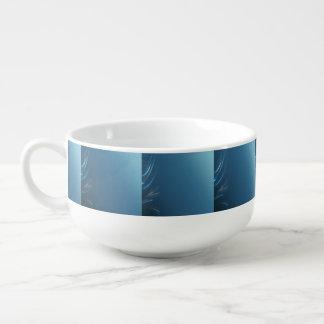 渦巻の青 スープマグ