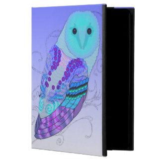 渦巻形のなフクロウ-あなたの色を選んで下さい! POWIS iPad AIR 2 ケース