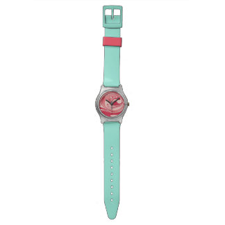 渦巻形のな水の腕時計 腕時計