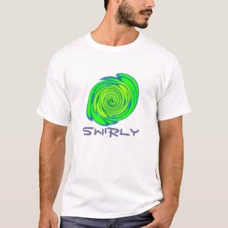 渦巻形の Tシャツ