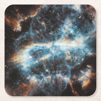 渦巻星雲の宇宙 スクエアペーパーコースター