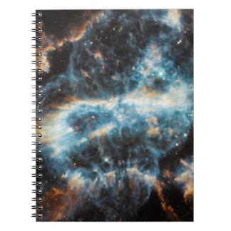 渦巻星雲の宇宙 ノートブック