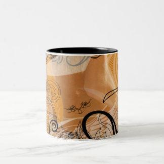 渦巻 ツートーンマグカップ