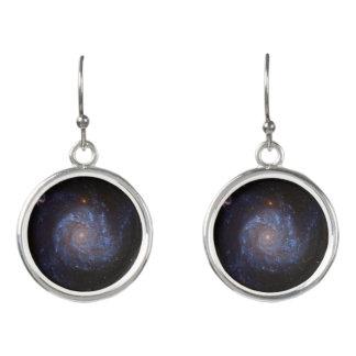 渦状銀河のイヤリング イヤリング