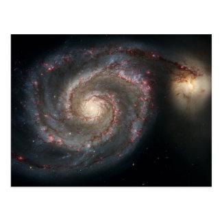 渦状銀河の郵便はがき ポストカード