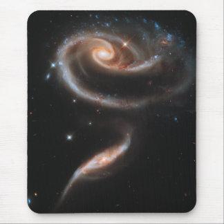 渦状銀河は上がりました マウスパッド