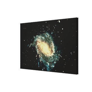渦状銀河 キャンバスプリント