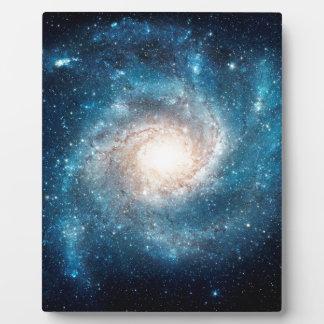 渦状銀河 フォトプラーク