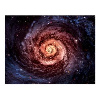 渦状銀河 ポストカード