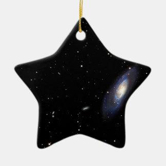 渦状銀河M106 セラミックオーナメント
