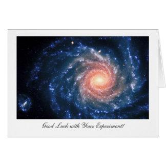 渦状銀河NGC 1232年-実験の幸運 カード