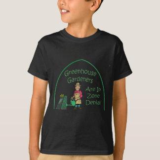 温室の庭師は地帯の否定にあります Tシャツ