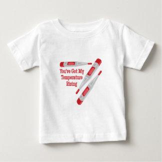 温度の上昇 ベビーTシャツ