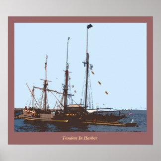 港のタンデム ポスター