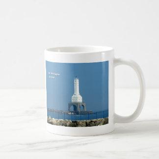 港のワシントン州の灯台 コーヒーマグカップ