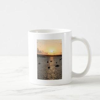 港の日の出 コーヒーマグカップ