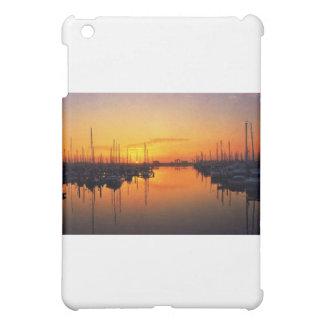 港の日没 iPad MINI CASE