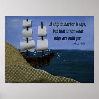 港の船 ポスター