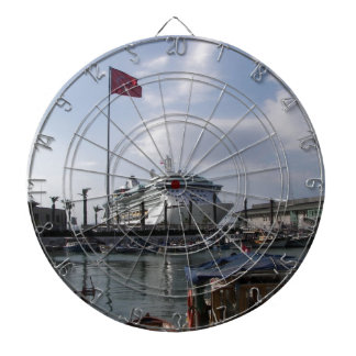 港の遊航船 ダーツボード