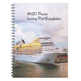 港の遊航船 ノートブック