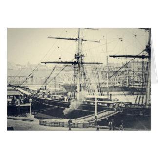 港のCutty Sark カード