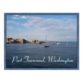 港のTownsendのMoorage ポストカード
