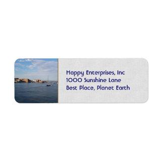港のTownsendのMoorage ラベル