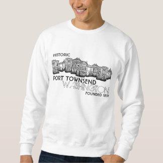港のTownsend歴史的なワシントン州のスエットシャツ スウェットシャツ