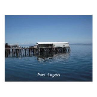 港アンヘレス ポストカード