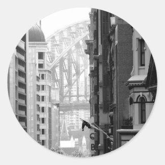 港橋眺め1 ラウンドシール