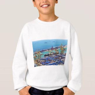 港 スウェットシャツ