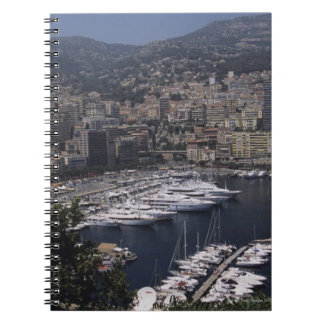 港、モンテカルロ、フランス語RivierのCoteのd ノートブック