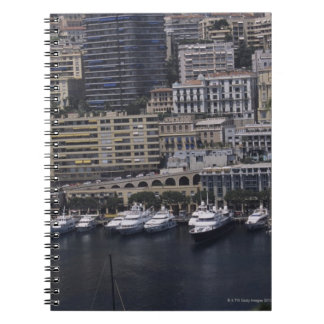 港、モンテカルロ、リビエラのCoteのd ノートブック