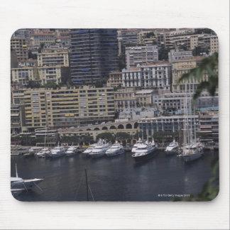 港、モンテカルロ、リビエラのCoteのd マウスパッド
