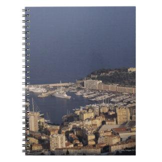 港、モンテカルロ、リビエラのCoteのd 2 ノートブック